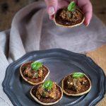 Blinis senza glutine con pesto di pomodori secchi - Cardamomo & co