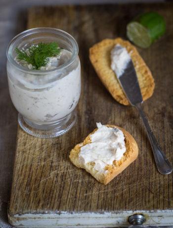 Paté di aringa affumicata senza glutine - Cardamomo & co