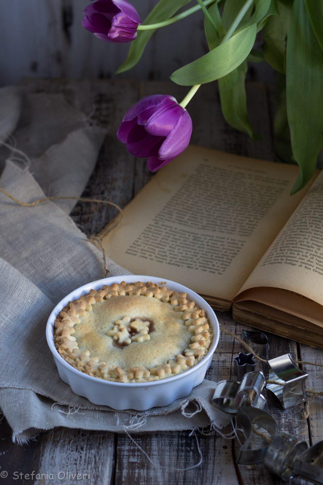 Crostata alle ciliegie senza glutine - Cardamomo & co