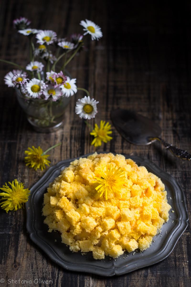 Torta Mimosa senza glutine e senza lattosio - Cardamomo & co