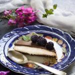 Cheesecake senza glutine con latte condensato e more - Cardamomo & co