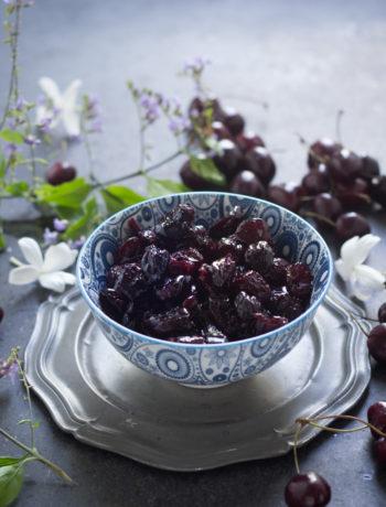 Confettura di ciliegie - Cardamomo & co