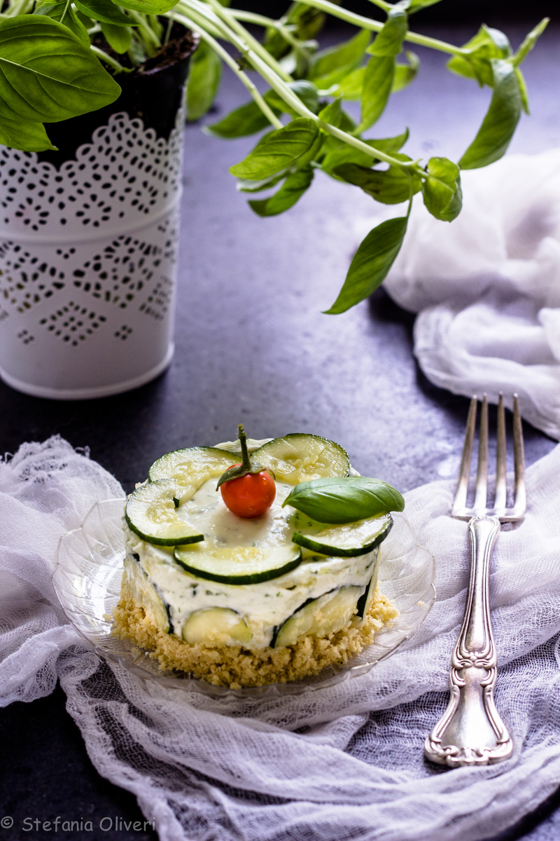 Cheesecake salata senza glutine - Cardamomo & co