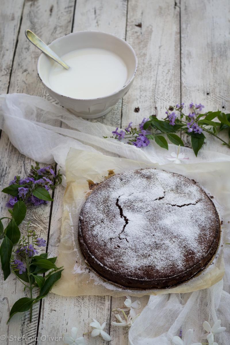 Torta di castagne e mandorle senza glutine - Cardamomo & co