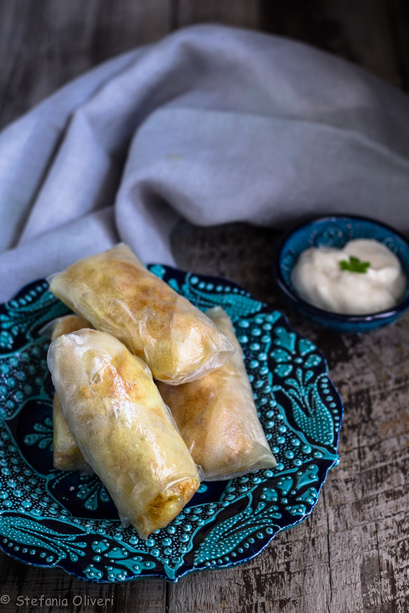 Involtini tunisini senza glutine - Cardamomo & co