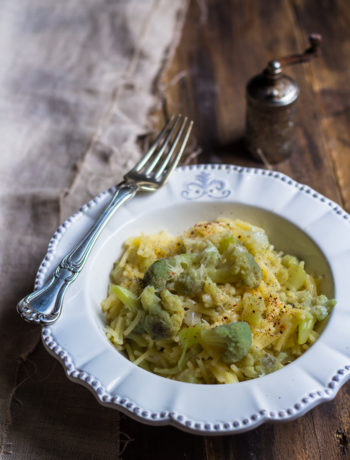 Pasta e cavolfiore sfritta senza glutine - Cardamomo & co