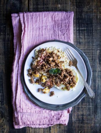 Cous cous di cavolfiore e curry di Jamie Oliver - Cardamomo & co