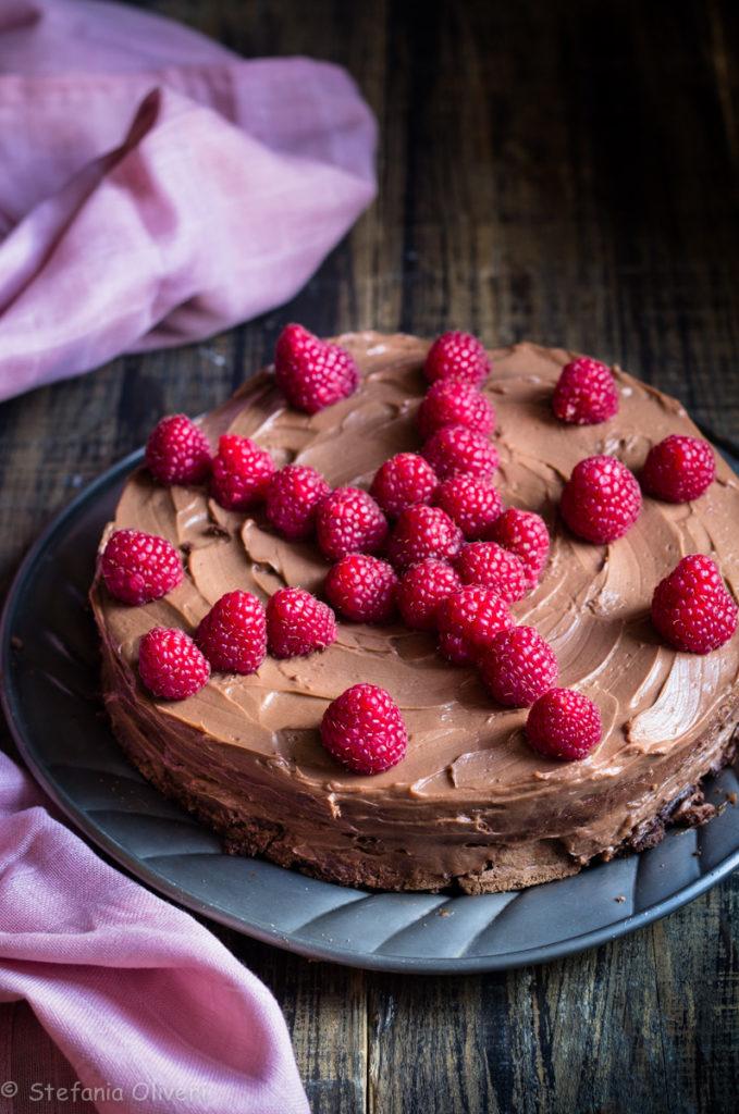 Torta al cioccolato con Crema al mascarpone e Nutella - Cardamomo & co