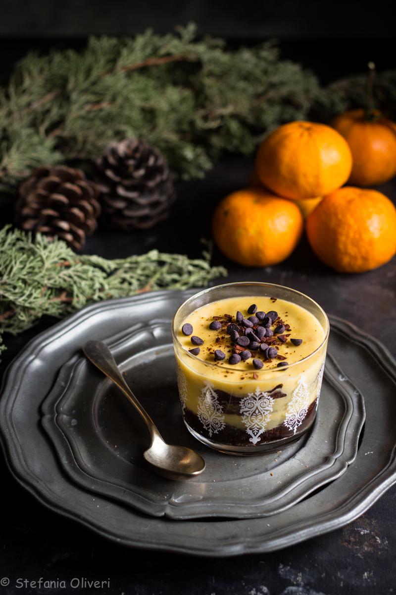 Zuppa inglese al mandarino senza glutine - Cardamomo & co