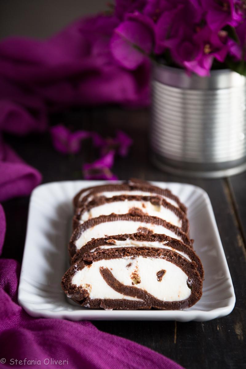 Rotolo al cioccolato senza glutine e cottura - Cardamomo & co
