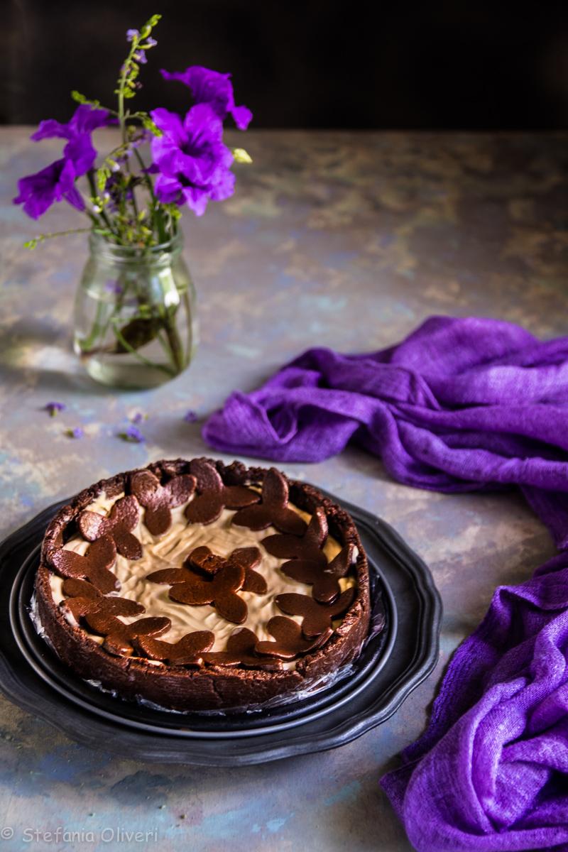 Cheesecake al caffè senza glutine e cottura - Cardamomo & co