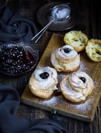 Zeppole di San Giuseppe senza glutine - Cardamomo & co