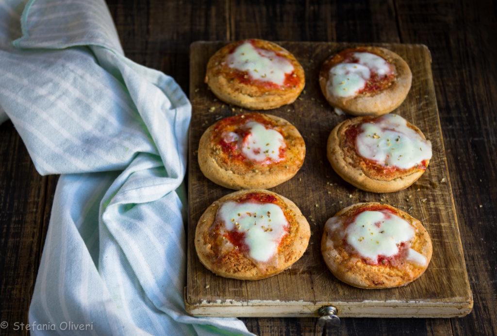 Pizzette senza glutine velocissime - Cardamomo & co