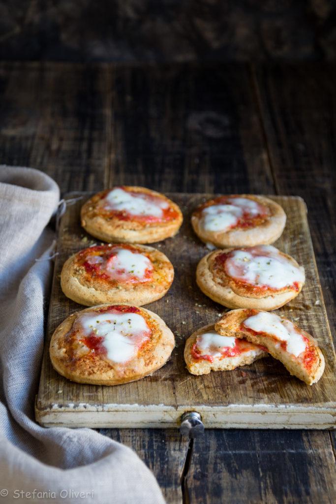 Pizzette senza glutine velocissime - Cardamomo & co.