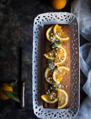 Pan d'arancia senza glutine - Cardamomo & co