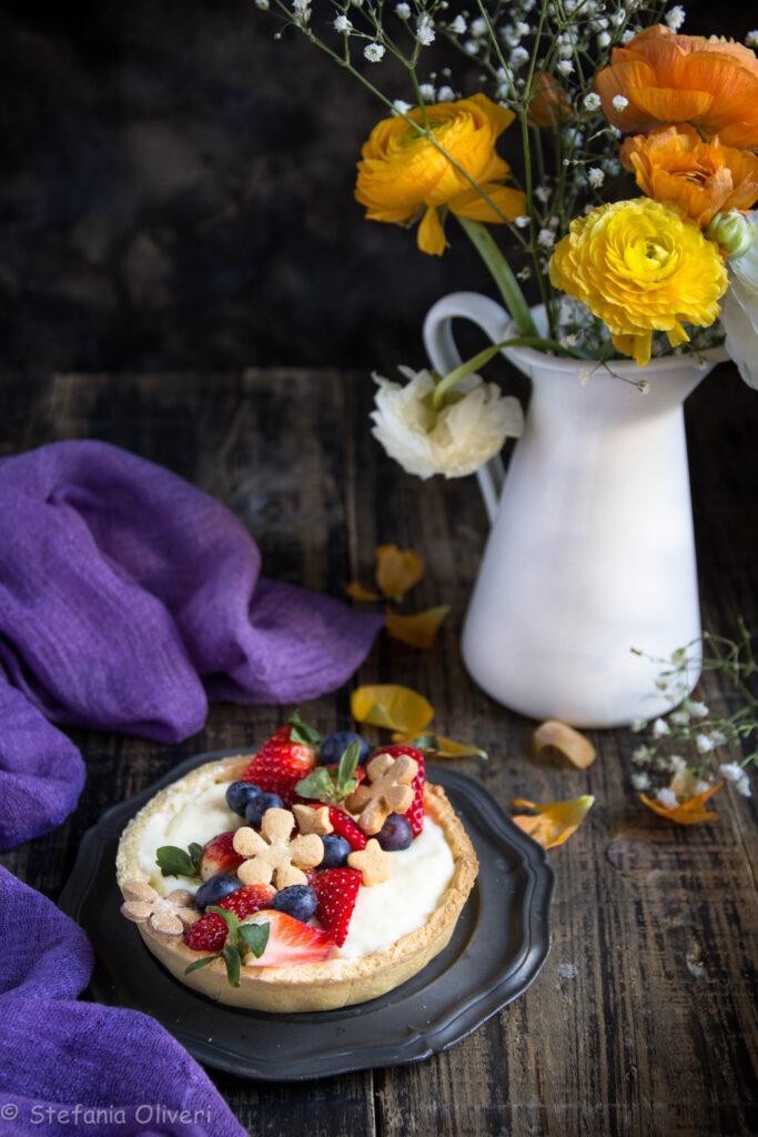 Pasta frolla all'olio senza glutine - Cardamomo & co
