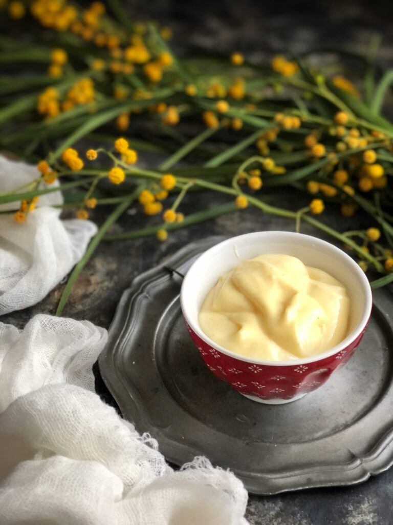 Crema pasticciera per la torta mimosa senza glutine - Cardamomo & co
